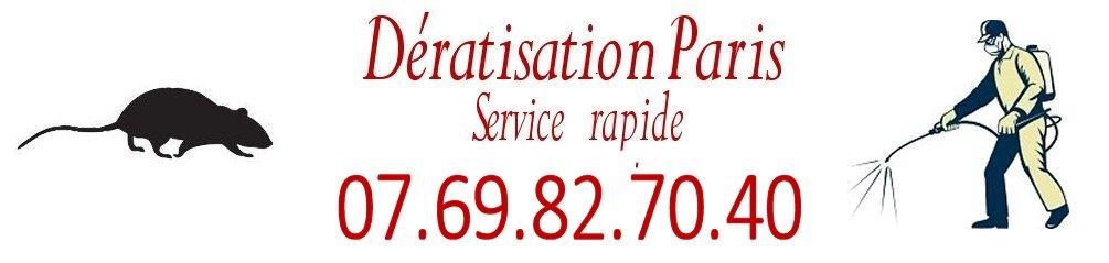 Dératisation Paris 75